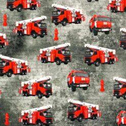 Jersey med brannnbiler