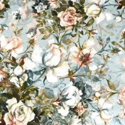 Jersey med Victoria roser - aquarell