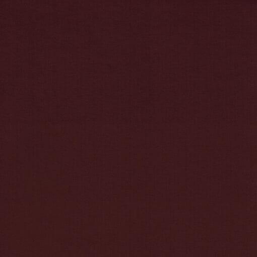 Ensfarget jersey - Merlot rød