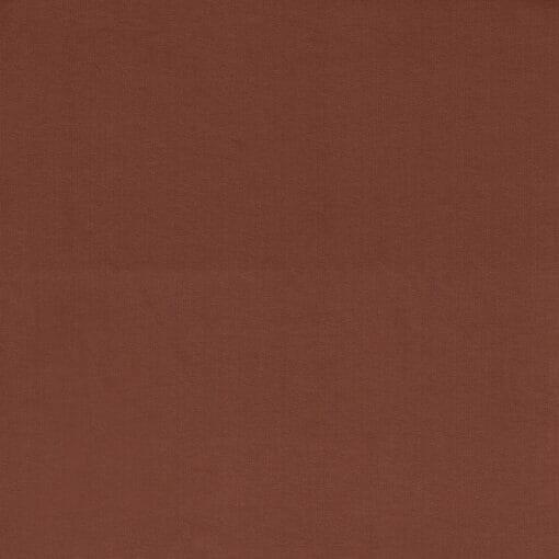 Ensfarget jersey - Signal brun