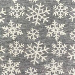 Merinoull Jerseystrikket – Snøfnugg grå