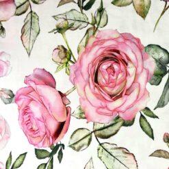 Isoli – Store roser Sandra- Hvit