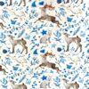 Jersey – Blåjul reinsdyr - hvit