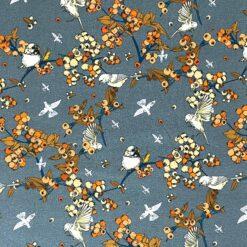 Jersey – Høstfugler - grå