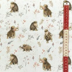 French Terry - Mammut - hvit