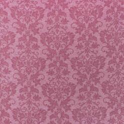 Ribb - Rosa Barokkmønstret