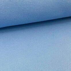Bomullsfleece - Støvet blå
