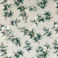 Jersey - Eucalyptusblad dueblå