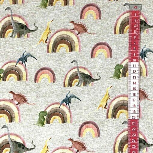 Jersey - Dinosaurer på regnbue