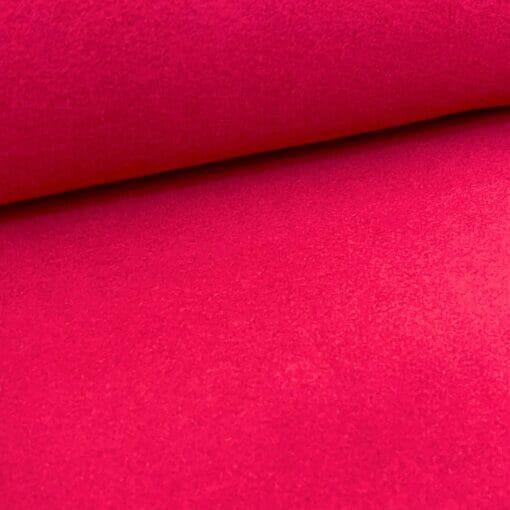 Bomullsfleece - Rød