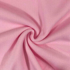 Bomullsfleece - Lyserosa