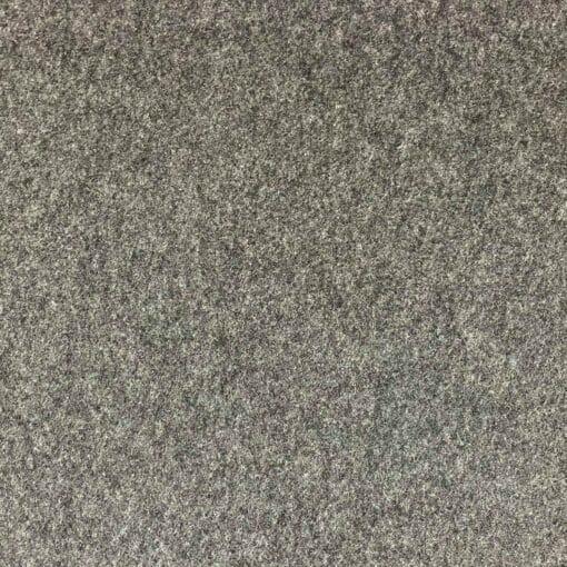 Bomullsfleece - Mørkegrå melert