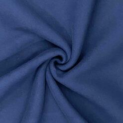 Bomullsfleece - Marineblå