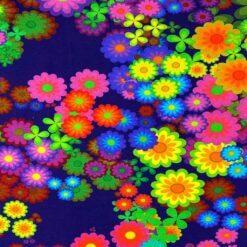 Jersey – Hippie regnbueblomst