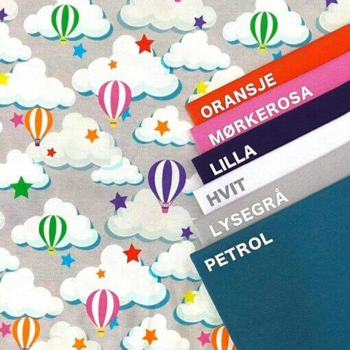 Jersey – Luftballonger - grå