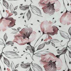 Jersey – Blomsterkvist - hvit