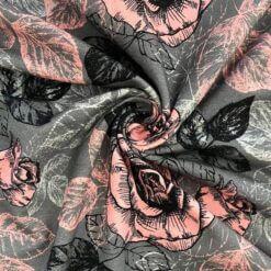 Jersey – Roseskisser grå