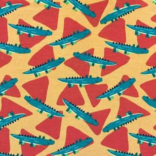 Jersey – Krokodiller - orange