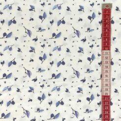 Jersey – Lilja blader - blå