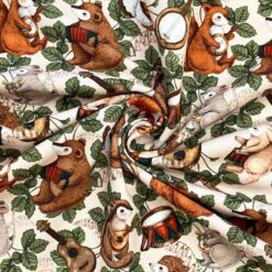 Jersey – Skogsorkester - pudderrosa