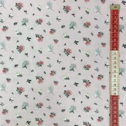 Jersey – Olivia blomster - rosa