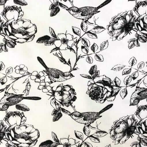 Jersey – Vårfugler - hvit
