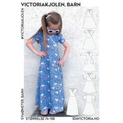Ida Victoria - Victoriakjolen til barn (74-158)