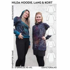 Ida Victoria - Hilda Hoodie, lang & kort genser