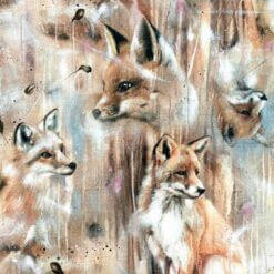 French Terry - Foxes brun - Mainelakeus