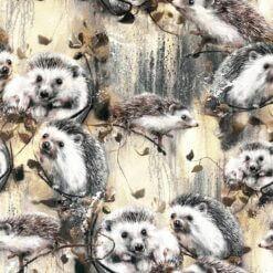 French Terry - Hedgehog brun - Mainelakeus