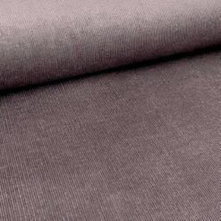 Kordfløyel - Smalstripet brun