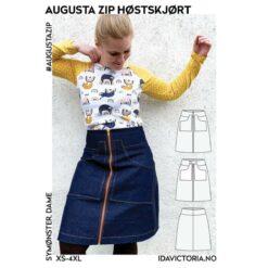 Ida Victoria - Augusta Zip Høstskjørt