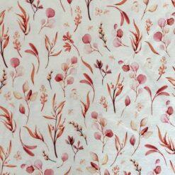 Jersey - Vilja blader - rosa